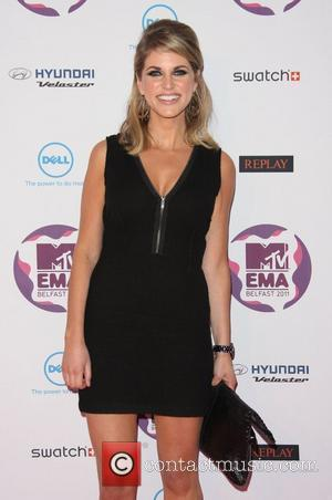 Amy Huberman The MTV Europe Music Awards 2011 (EMAs) held at the Odyssey Arena - Arrivals Belfast, Northern Ireland -...