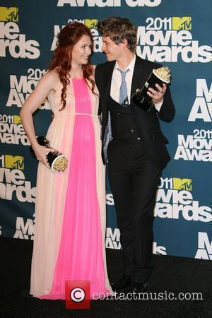 Bryce Dallas Howard and Xavier Samuel 2011 MTV Movie Press Room held at the Gibson Amphitheatre Los Angeles, California -...