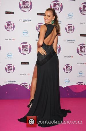 Irina Shayk The MTV Europe Music Awards 2011 (EMAs) held at the Odyssey Arena - Press Room Belfast, Northern Ireland...