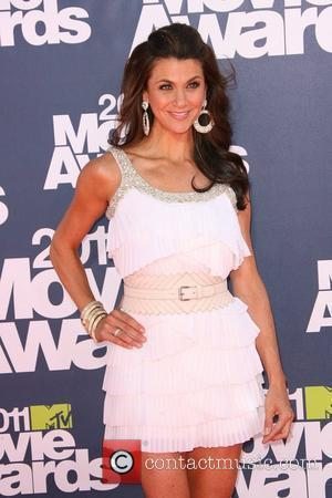 Samantha Harris  2011 MTV Movie Awards - Arrival held at the Gibson Amphitheatre  Los Angeles, California - 05.06.11