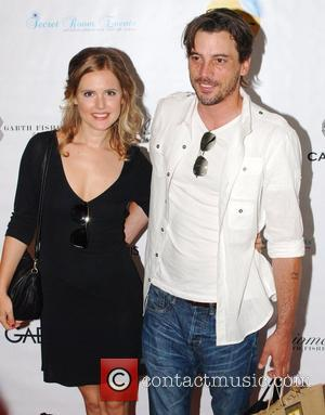 Amelia Jackson-Gray and Skeet Ulrich MTV Movie Awards Gifting Suite Secret Room at SLS Hotel  Beverly Hills, California -...