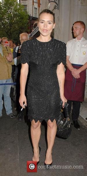 Billie Piper,  at the 'Much Ado About Nothing' press night at Wyndhams Theatre - Outside Arrivals London, England -...