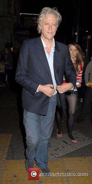 Bob Geldof Breaks Down In Emotional Interview