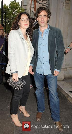 Louise Delamere and Stephen Mangan,  at the 'Much Ado About Nothing' press night at Wyndhams Theatre - Outside Arrivals...