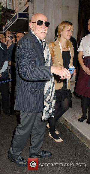 Richard Wilson ,  at the 'Much Ado About Nothing' press night at Wyndhams Theatre - Outside Arrivals London, England...