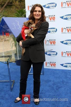 Brooke Shields Propel Zero to 1000 Celebrity Dog Walking event hosted by Cindy Crawford, held at Church Estate Vineyards Malibu,...