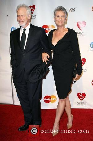Pieter Jan Brugge, Barbra Streisand and Jamie Lee Curtis