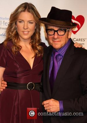 Diana Krall, Barbra Streisand and Elvis Costello