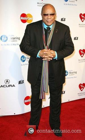 Qunicy Jones 2011 MusiCares Person of the Year Tribute to Barbara Streisand held at the Los Angeles Convention Center Los...