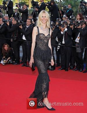 Claudia Schiffer  2011 Cannes International Film Festival - Day 10 - This Must Be the Place - Premiere...