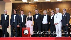 Liron Levo, David Byrne, Judd Hirsch and Sean Penn