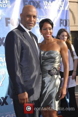James Pickens Jr., Regina King 42nd NAACP Image Awards at The Shrine Auditorium - Arrivals  Los Angeles, California, USA...