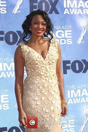 Tatyana Ali 42nd NAACP Image Awards at The Shrine Auditorium - Arrivals  Los Angeles, California, USA - 04.03.11