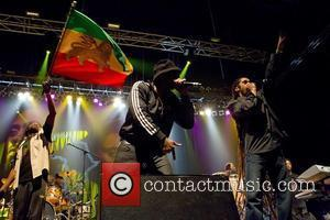 Nas and Damian Marley performing live at Pavilhao Atlantico on their 'Distant Relatives' tour Lisboa, Portugal - 14.05.11
