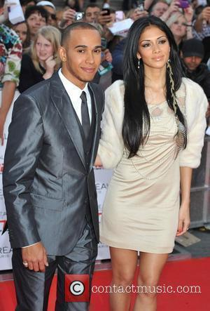 Lewis Hamilton and Nicole Scherzinger National Movie Awards held at the Wembley Arena - Arrivals. London, England - 11.05.11