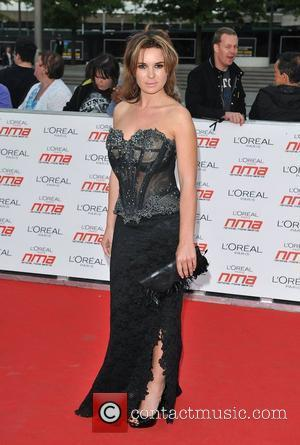 Kierston Wareing National Movie Awards held at the Wembley Arena - Arrivals. London, England - 11.05.11