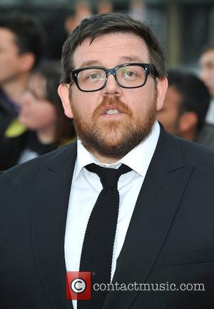 Nick Frost National Movie Awards held at the Wembley Arena - Arrivals. London, England - 11.05.11