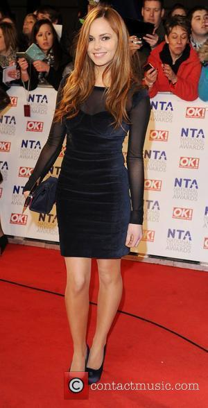 Hannah Tointon The National Television Awards 2011 (NTA's) held at the O2 centre - Arrivals London, England - 26.01.11