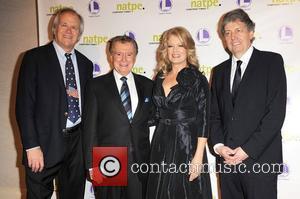 Regis Philbin and Mary Hart