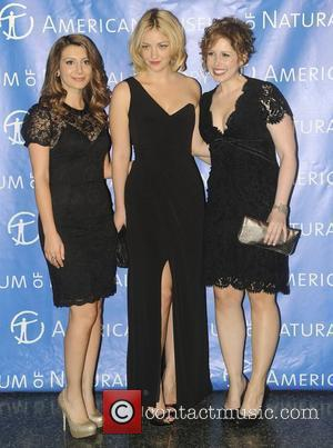 Nasim Pedrad, Abby Elliott, Vanessa Bayer,  at the 2011 American Museum of Natural History gala at the American Museum...