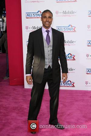 Rick Fox T-Mobile Magenta Carpet At The 2011 NBA All-Star Game held at L.A. Live! Los Angeles, California - 20.02.11