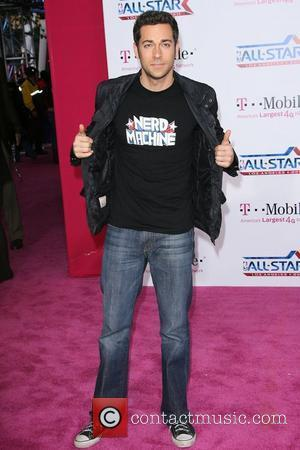 Zachary Levi T-Mobile Magenta Carpet At The 2011 NBA All-Star Game held at L.A. Live! Los Angeles, California - 20.02.11