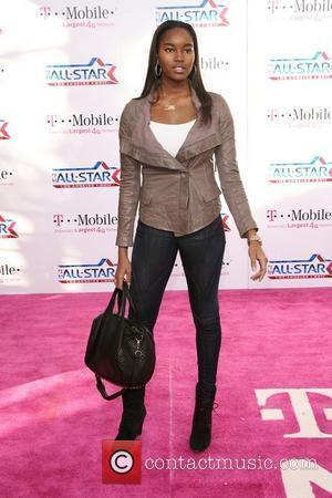 Damaris Lewis T-Mobile Magenta Carpet At The 2011 NBA All-Star Game held at L.A. Live! Los Angeles, California - 20.02.11