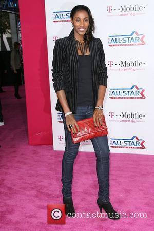Lisa Leslie  T-Mobile Magenta Carpet At The 2011 NBA All-Star Game held at L.A. Live! Los Angeles, California -...