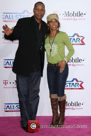 Mark Curry and Holly Robinson Peete