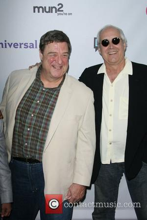 John Goodman and Chevy Chase