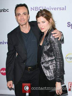 Hank Azaria and Kathryn Hahn NBC Press Tour Party held at The Bazaar at the SLS Hotel Los Angeles, California...
