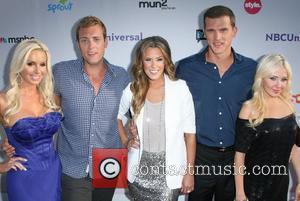 Cast of 'Most Eligible Dallas' Tara Harper, Drew Ginsburg, Courtney Kerr, Matt Nordgren and Neill Skylar NBC Press Tour Party...