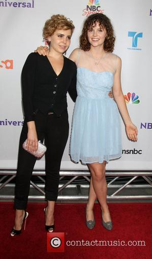 Mae Whitman and Sarah Ramos
