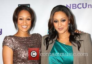 Tamara Mowry and Tia Mowry The NBC TCA Summer 2011 Party at the SLS Hotel - Arrivals Los Angeles, California...