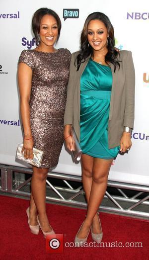 Tamara Mowry and Tia Mowry The NBC TCA Summer 2011 Party at the SLS Hotel - Arrivals Los Angeles, California...