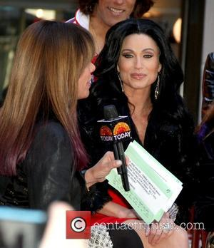 Amy Robach as Kim Kardashian filming for the NBC Today Show at Rockefeller Center for Halloween  New York City,...