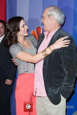Katharine Mcphee and Chevy Chase