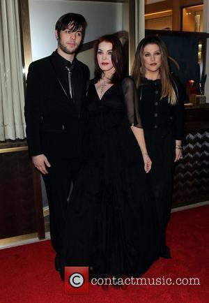 Priscilla Presley, Las Vegas and Lisa Marie Presley