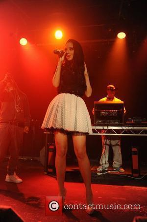 Tula 'Tulisa' Contostavlos of N-Dubz, ,  performing at their Exclusive Aftershow at the Leadmill Sheffield, England - 14.04.11