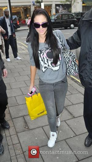 Tulisa Contostavlos of N Dubz outside the BBC Radio One studios London, England - 29.03.11