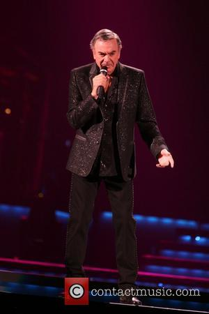 Neil Diamond performs at Ahoy, Rotterdam Rotterdam, Netherlands - 09.06.11