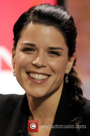 Neve Campbell  appearing on CTV's 'The Marilyn Denis Show' to promote her upcoming movie 'Scream 4'  Toronto, Canada...