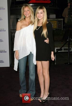 Heather Locklear and Ava Sambora  Los Angeles Premiere of Justin Bieber: Never Say Never held at Nokia Theatre L.A....