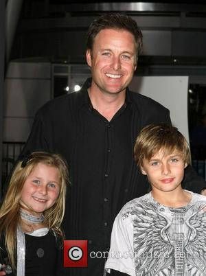 Chris Harrison, children Los Angeles Premiere of 'Justin Bieber: Never Say Never' held at Nokia Theatre L.A. Live Los Angeles,...