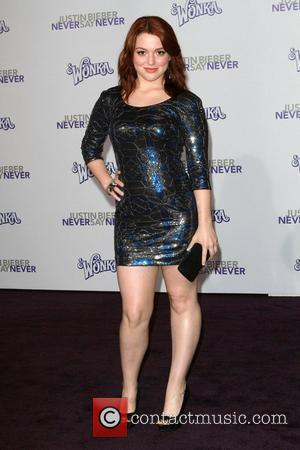 Jennifer Stone Los Angeles Premiere of 'Justin Bieber: Never Say Never' held at Nokia Theatre L.A. Live Los Angeles, California...