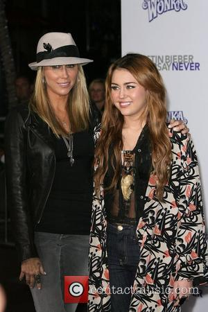 Tish, Miley Cyrus, Never Say Never LA Premiere