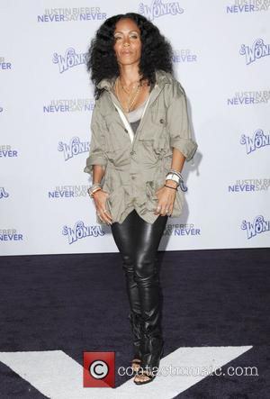 Jada Pinkett Smith Los Angeles Premiere of Justin Bieber: Never Say Never held at Nokia Theatre L.A. Live Los Angeles,...