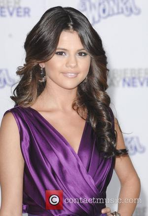 Selena Gomez Los Angeles Premiere of Justin Bieber: Never Say Never held at Nokia Theatre L.A. Live Los Angeles, California...
