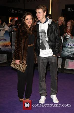 Madelaine Duggan and Thomas Law 'Never Say Never' film premiere held at Cineworld O2 - Arrivals London, England - 16.02.11
