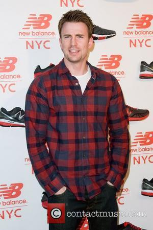 Chris Evans  Opening of the New Balance Experience Store New York City, USA - 10.08.11
